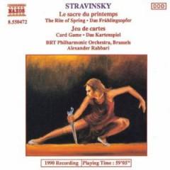 Stravinsky, I. - Sacre Du Printemps/Jeu De
