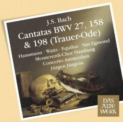 Bach, J.S. - Cantatas No.198