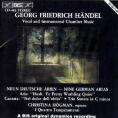 Handel, G.F. - Neun Deutsche Arien