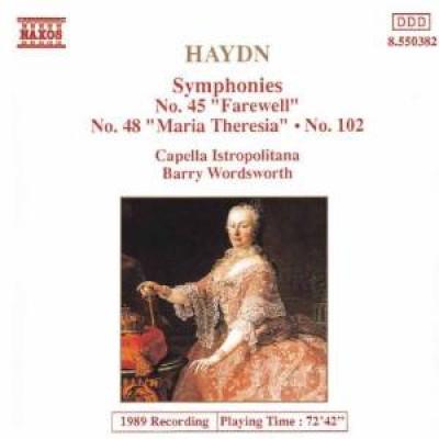 Haydn, J. - Symphonies Nos.45,48 &102