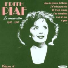 Piaf, Edith - La Consecration Vol.4