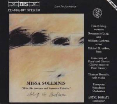 Beethoven, L. Van - Missa Solemnis In D Major