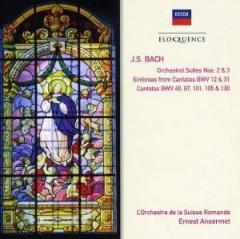 Ansermet, Ernest - Bach J S: Orch Suites & Cantatas