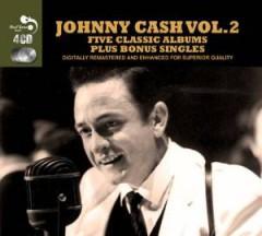 Cash, Johnny - 5 Classic Albums Plus