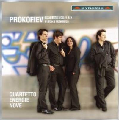 Prokofiev, S. - Quartets No.1 & 2/Visions