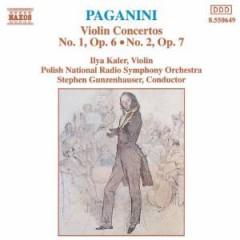 Paganini, N. - Violin Concertos Nos.1&2