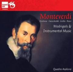 Monteverdi, C. - Madrigals & Instrumental