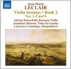 Leclair, J. M. - Violinsonaten Buch 2, Nr.