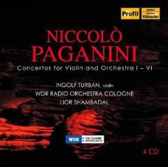 Paganini, N. - VIOLINKONZERTE 1-6