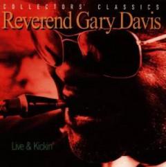 DAVIES, REVEREND GARY - LIVE & KICKIN'