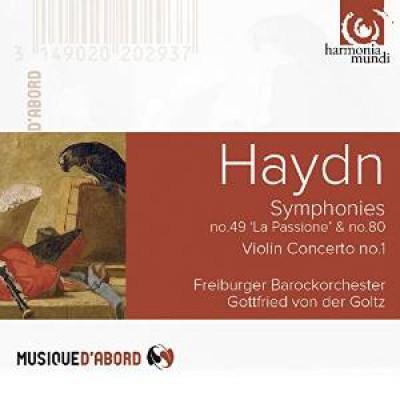 Haydn, J. - Violin Concerto/Sym.No.49