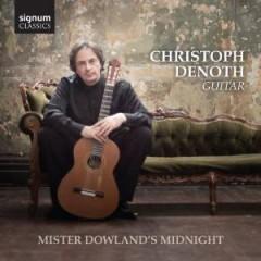 Dowland, J. - MISTER DOWLAND'S MIDNIGHT