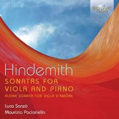 Hindemith, P. - SONATAS FOR VIOLA & PIANO