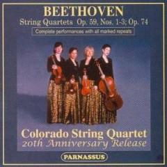 Beethoven, L. Van - Quartets Opp. 59 & 74