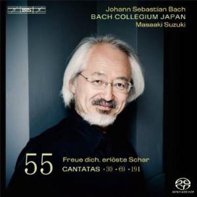 Bach, J.S. - Cantatas Vol.55