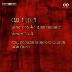 Nielsen, C. A. - SINFONIEN 4 & 5