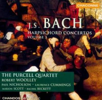 Bach, J.S. - Harpsichord Concertos V.3