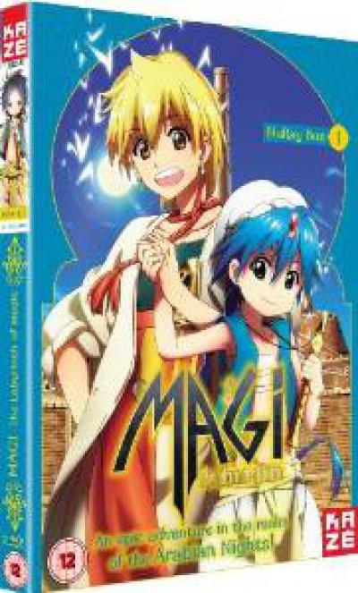 Anime - Magi   Series 1 Pt.1