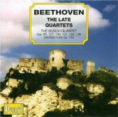 Beethoven, L. Van - DIE SPAETEN STREICHQUARTE
