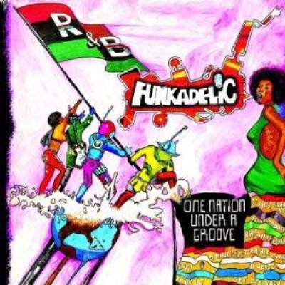 Funkadelic - One Nation..  Lp+7