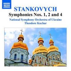 STANKOVYCH, Y. - SINFONIEN 1, 2 & 4