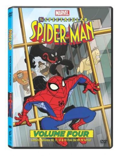 Animation - Spectacular Spiderman 4