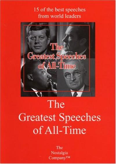 Documentary - Greatest Speeches Of V.1