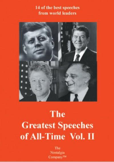 Documentary - Greatest Speeches Of V.2