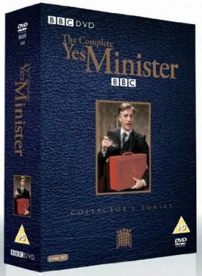 Tv Series - Yes Minister  Boxset