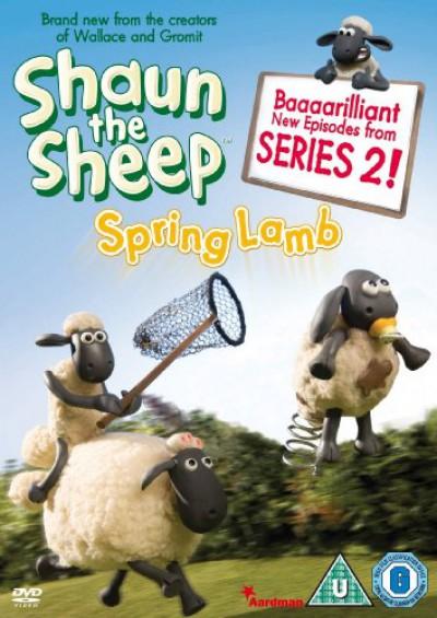 Animation - Shaun The Sheep Spring..