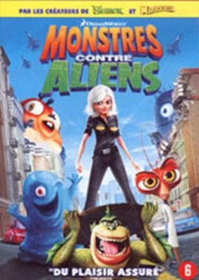 Animation - Monsters Vs. Aliens
