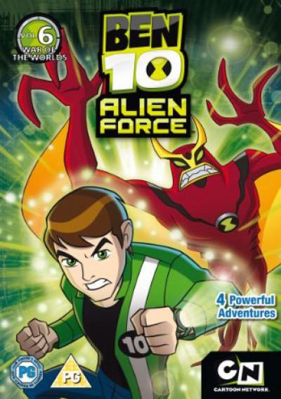 Animation - Ben 10: Alien Force Vol.6