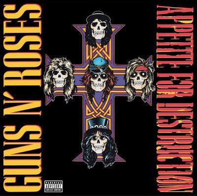 Guns N' Roses - Appetite For Destruction (Uncensored Cover)