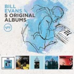 Evans, Bill - 5 ORIGINAL ALBUMS