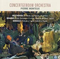 Beethoven/Brahms/Debussy - DIE WEIHE/VIOLIN CONCERTO