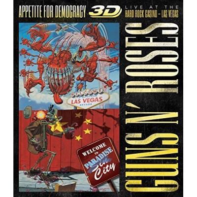 Guns N' Roses - APPETITE FOR.. -CD+BLRY-