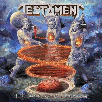 Testament - TITANS OF.. -GATEFOLD-