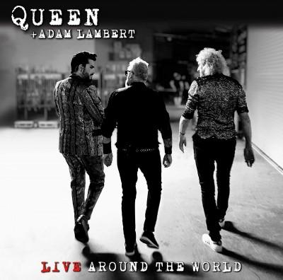 QUEEN & ADAM LAMBERT - LIVE AROUND.. -CD+BLRY-