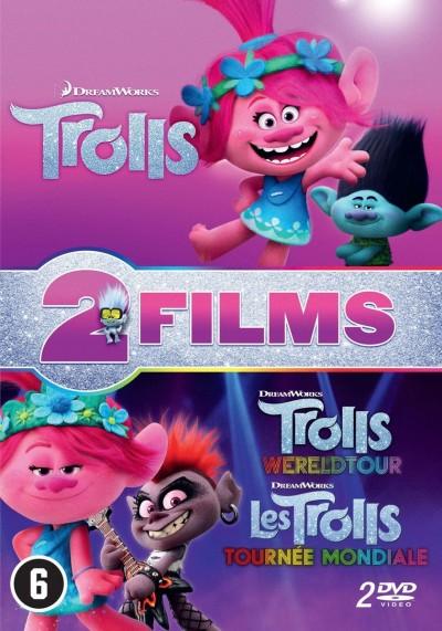 Animation - TROLLS 1-2 -BOX SET-