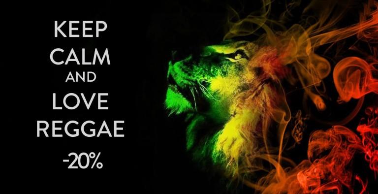 Reggae -20% click on the banner