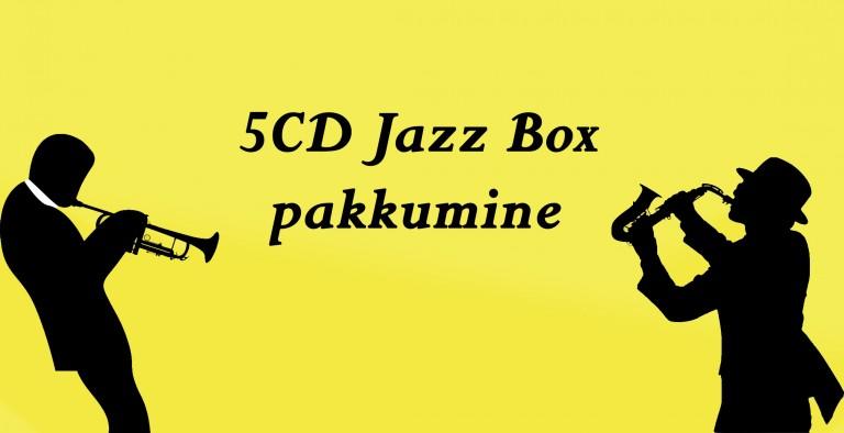 5 CD Jazz box pakkumine