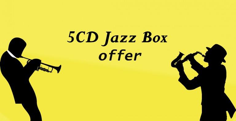 5 CD Jazz box offer
