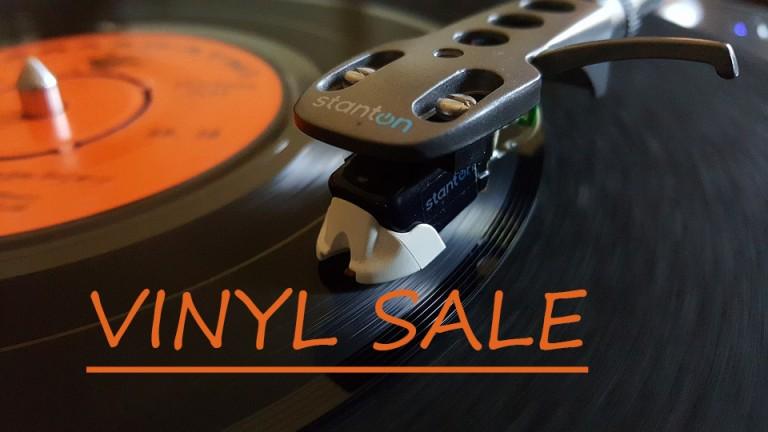Vinyl warehouse sale