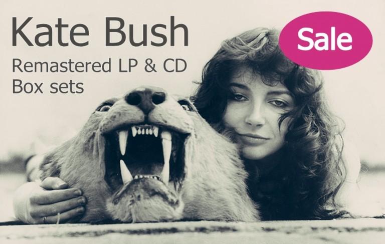 Kate Bush - Remastered LP & CD - Box sets!