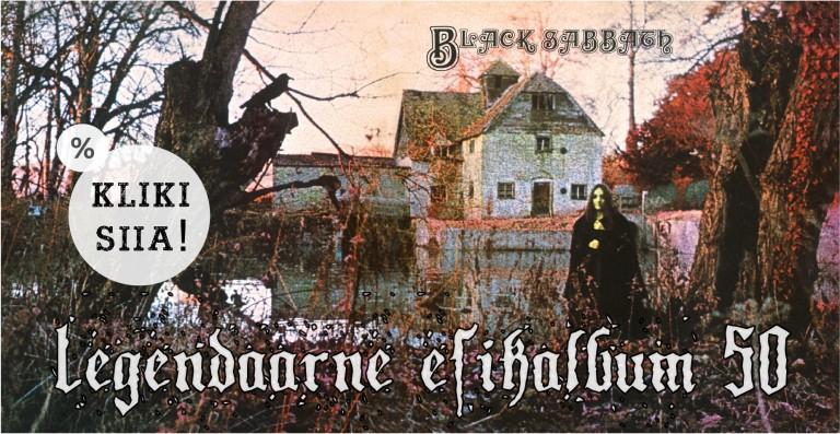 Black Sabbathi debüütalbum 50 aastat!