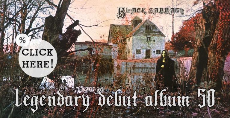 Black Sabbath debut album 50 years anniversary!