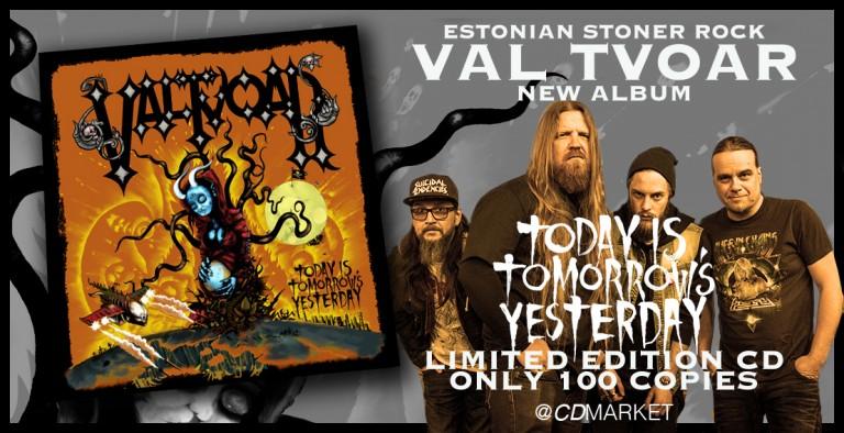 Ainult 100 CD'd saadaval! Eesti oma stoner rock!