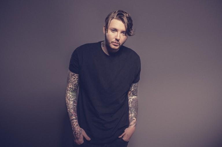 "British artist James Arthur releases new album ""Back from the Edge"""